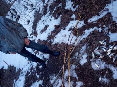 Порушник завдав більше 2 тис. грн збитків на річці Уди
