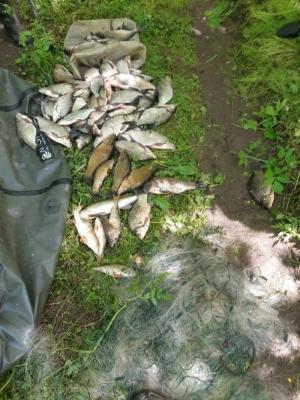 Рибоохооронний патруль Харківщини вилучив 26 кг незаконно добутої риби