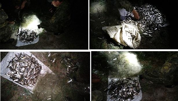 На річці Сіверський Донець затримано порушників, які нанесли збитків понад 22 тис. грн, - Харківський рибоохоронний патруль